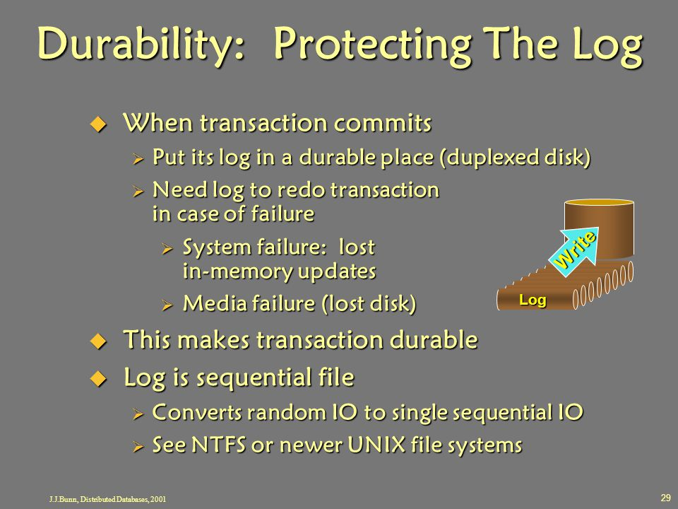 Durability: Protecting The Log