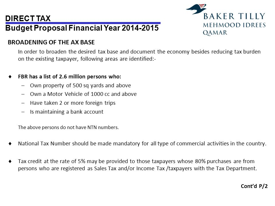 BROADENING OF THE AX BASE