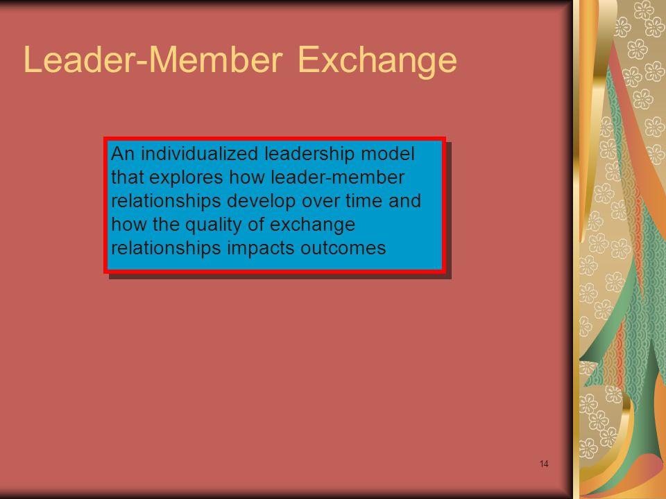 Leader-Member Exchange