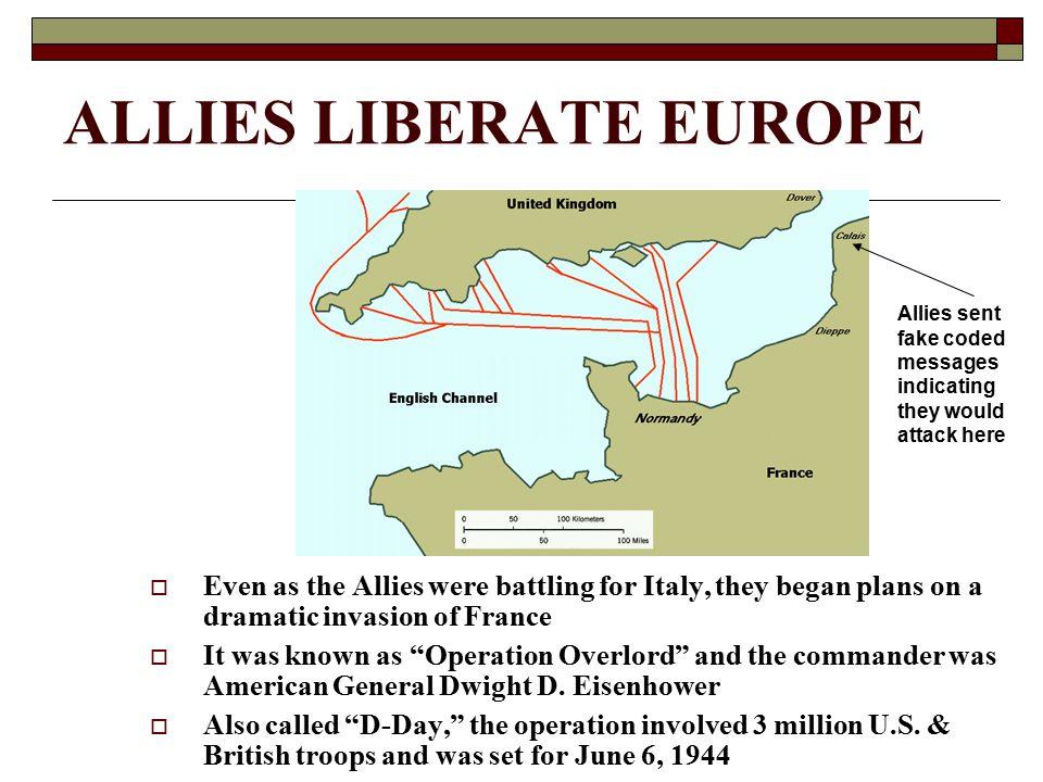 ALLIES LIBERATE EUROPE