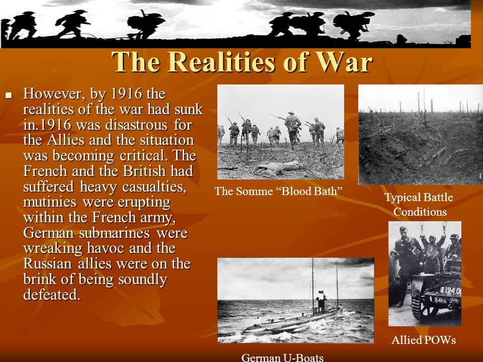 The Realities of War