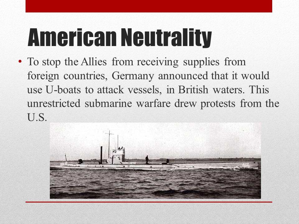 American Neutrality