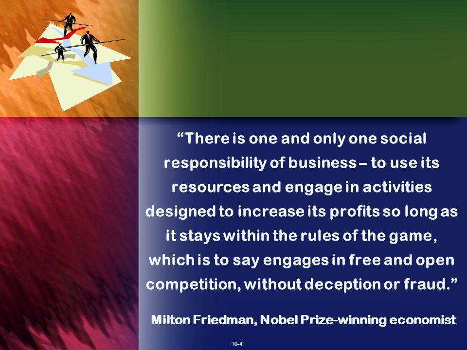 Milton Friedman, Nobel Prize-winning economist