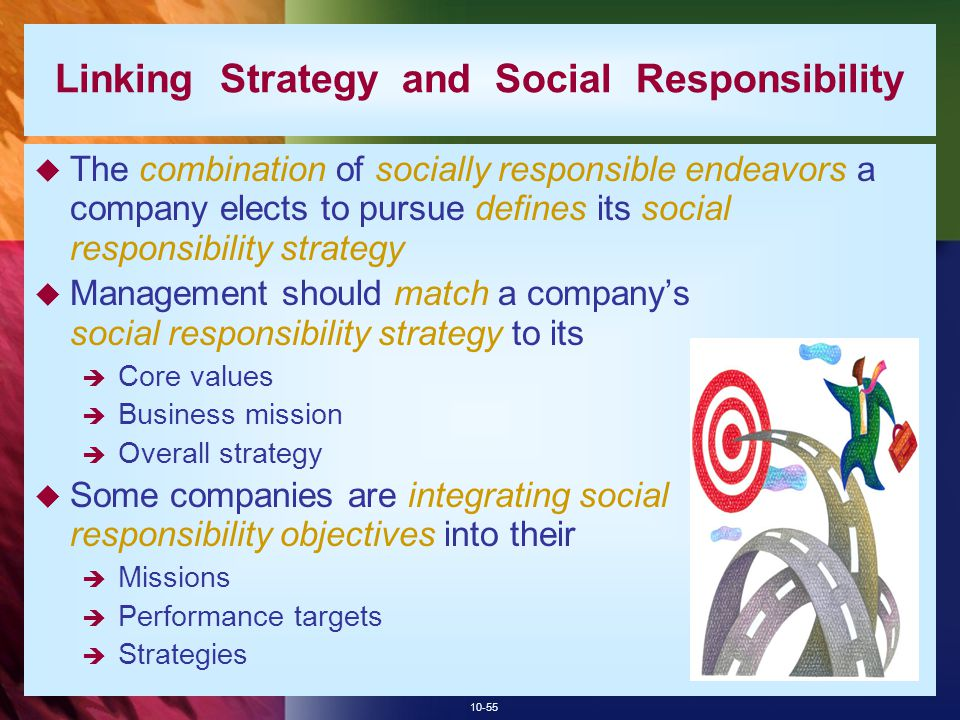 Linking Strategy and Social Responsibility