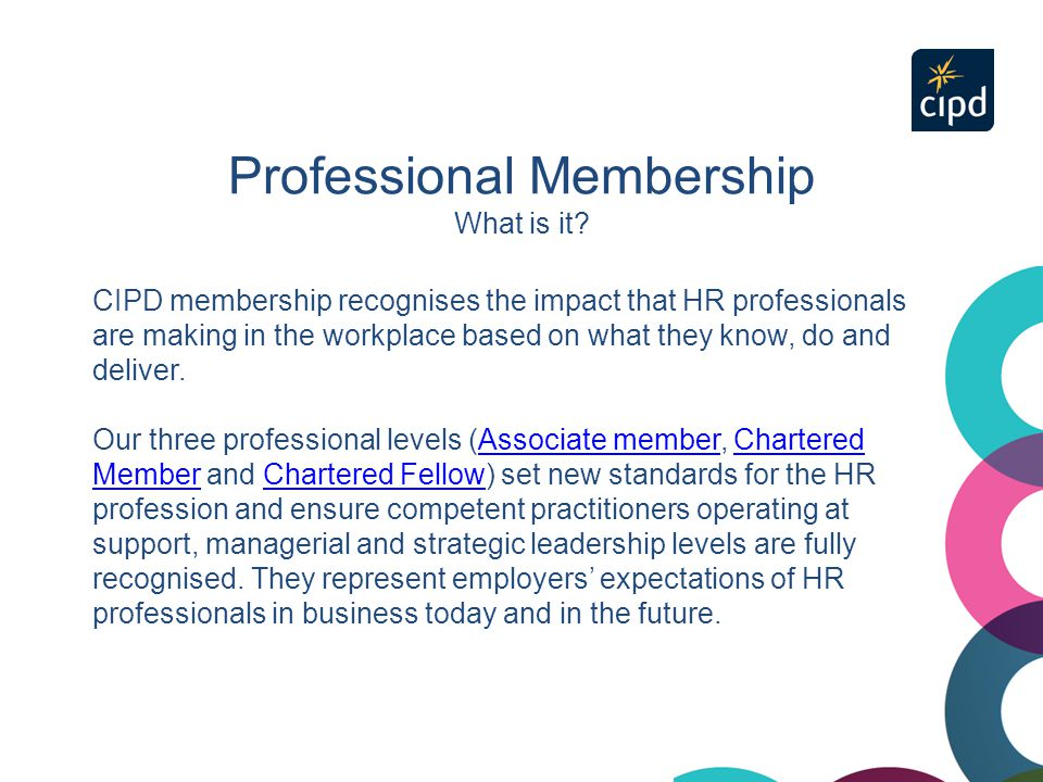 Professional Membership What is it