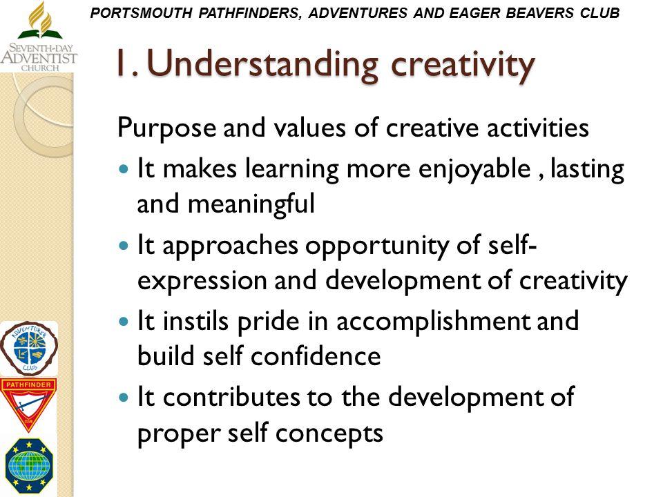 1. Understanding creativity