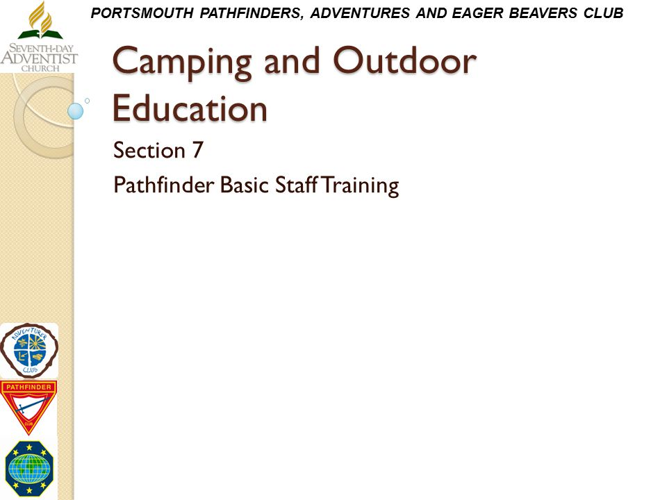 Camping and Outdoor Education