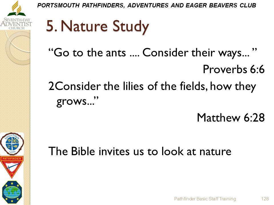 5. Nature Study