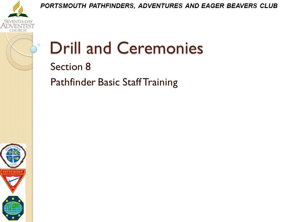 Section 8 Pathfinder Basic Staff Training