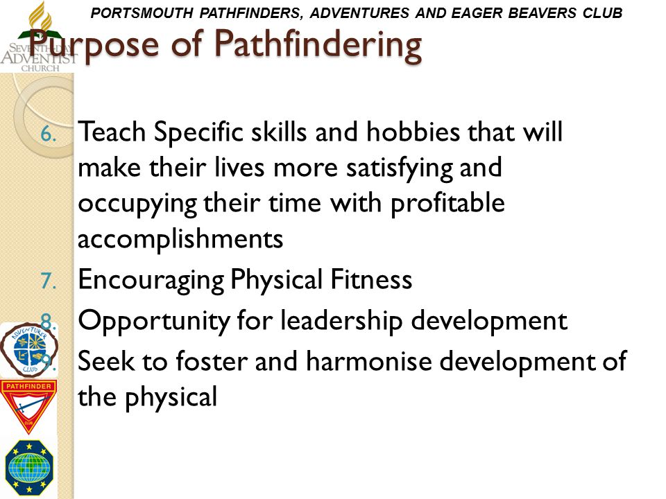 Purpose of Pathfindering