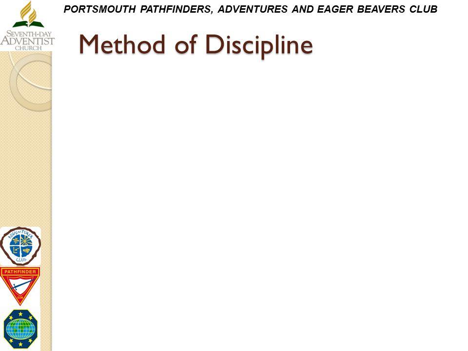 Method of Discipline