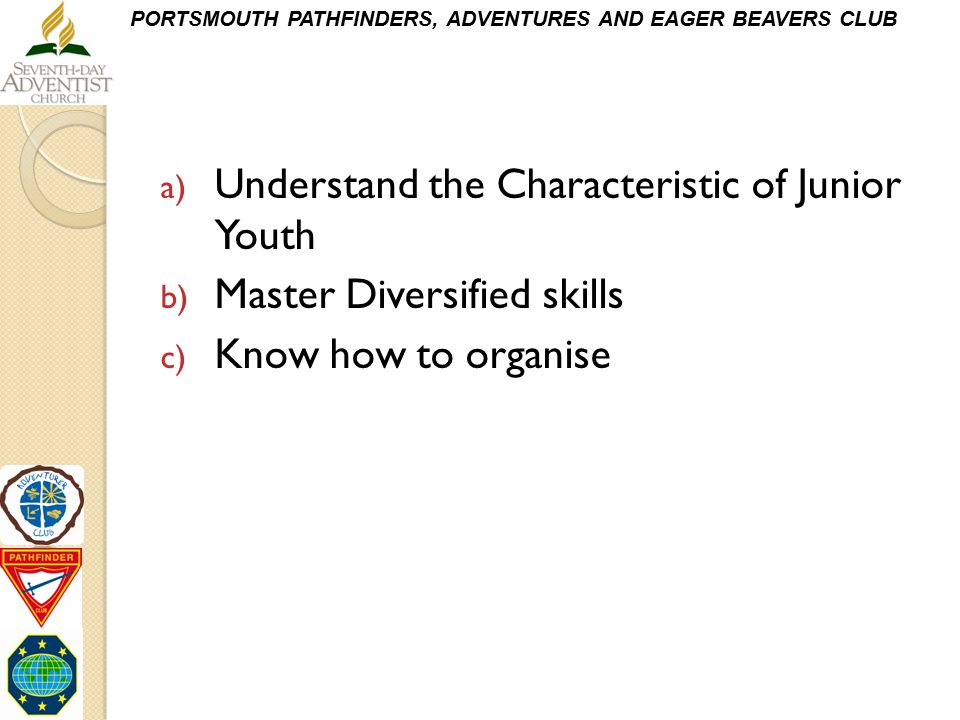 Understand the Characteristic of Junior Youth