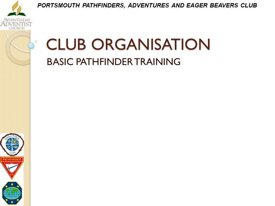 BASIC PATHFINDER TRAINING