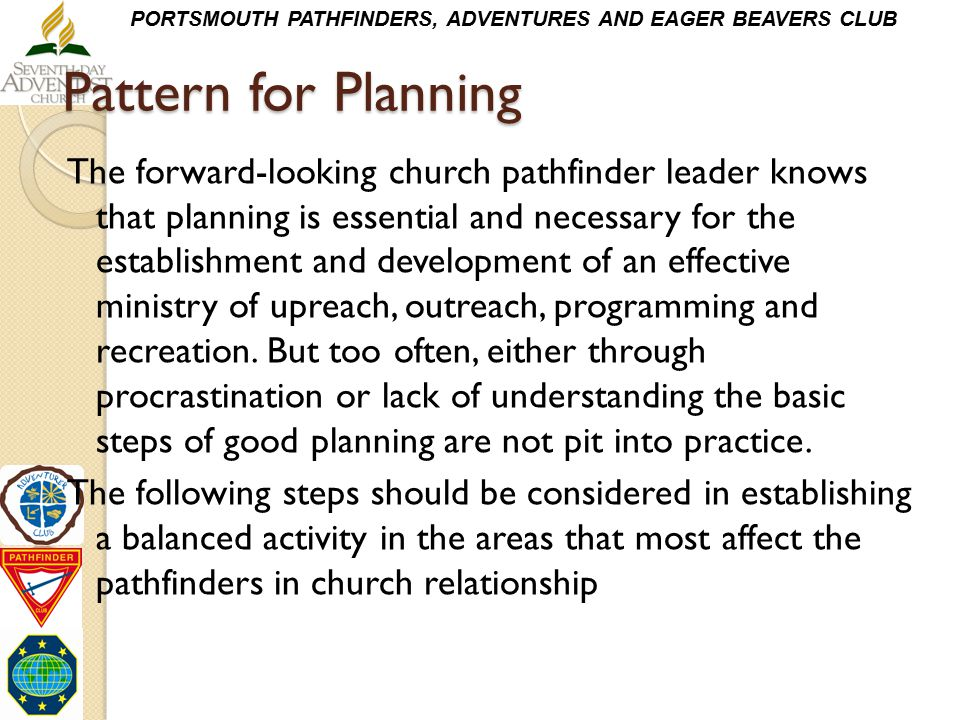 Pattern for Planning