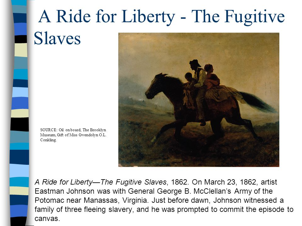 A Ride for Liberty - The Fugitive Slaves
