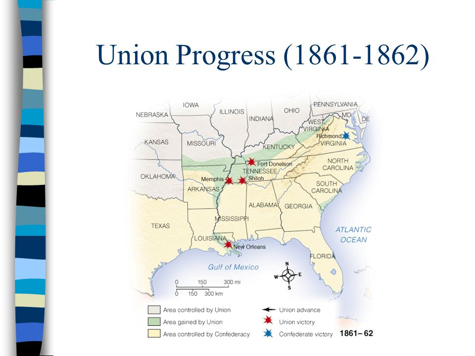 Union Progress (1861-1862)