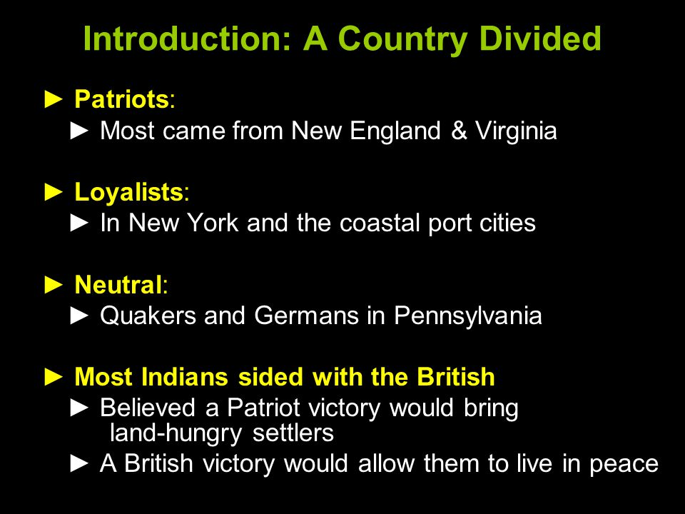 Introduction: A Country Divided