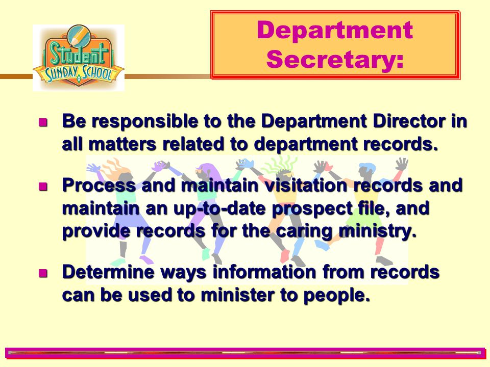 Department Secretary: