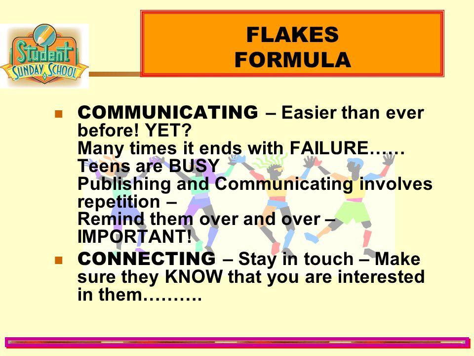 FLAKES FORMULA
