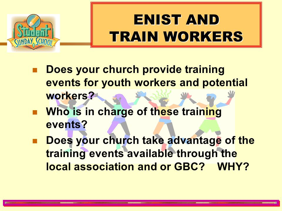 ENIST AND TRAIN WORKERS