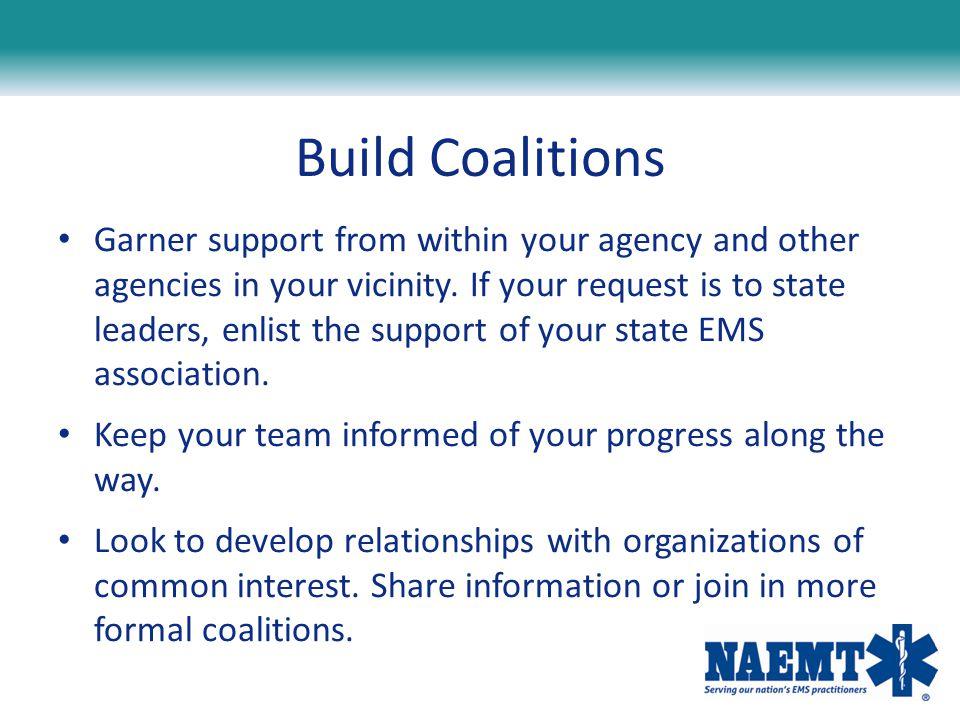 Build Coalitions