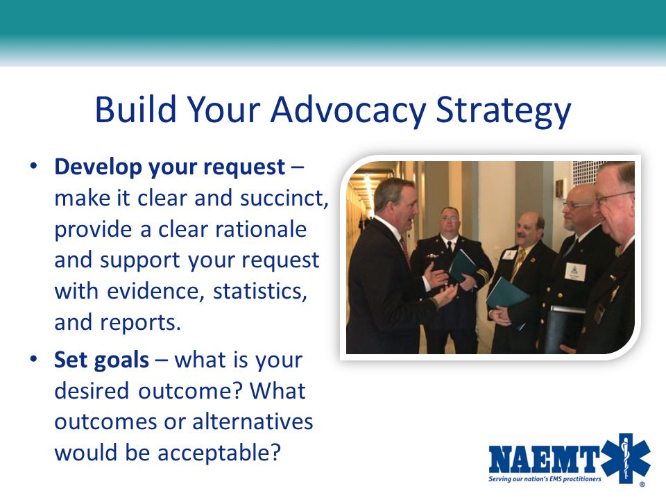 Build Your Advocacy Strategy