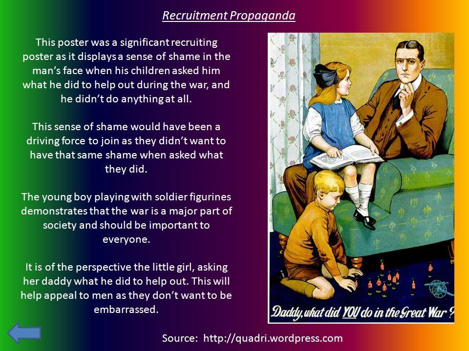 Recruitment Propaganda