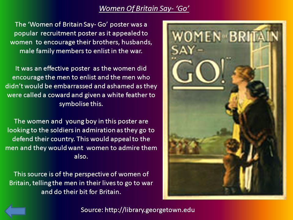 Women Of Britain Say- 'Go'