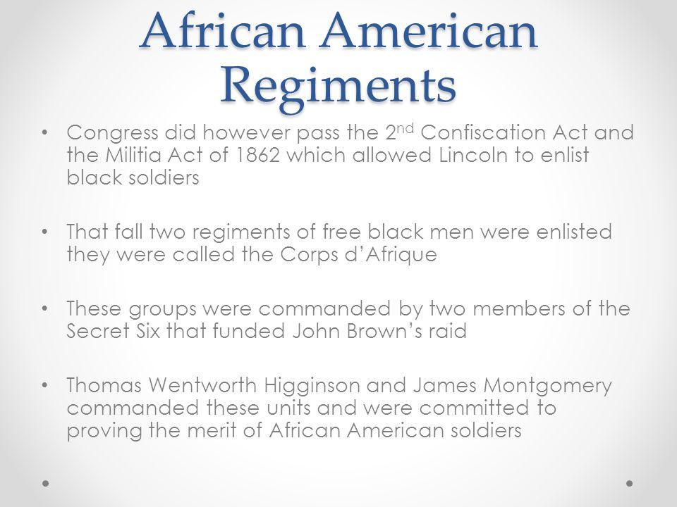 African American Regiments