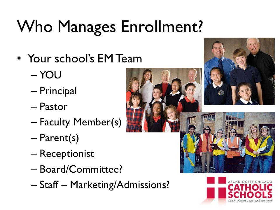 Who Manages Enrollment