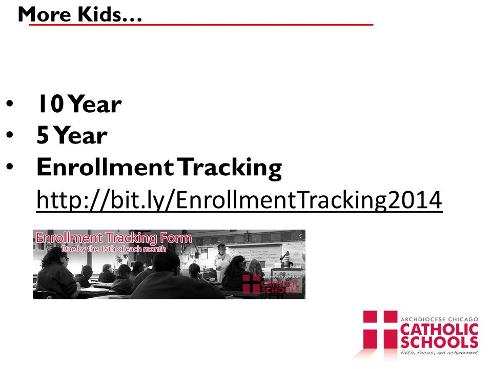 Enrollment Tracking http://bit.ly/EnrollmentTracking2014