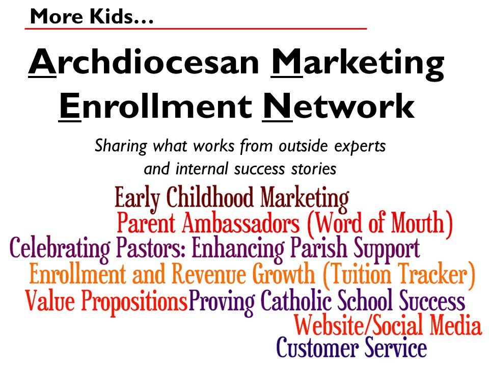 Archdiocesan Marketing Enrollment Network
