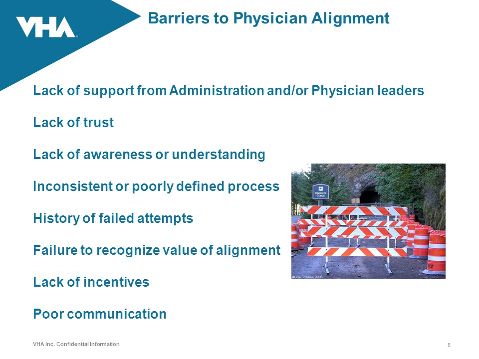 Barriers to Physician Alignment