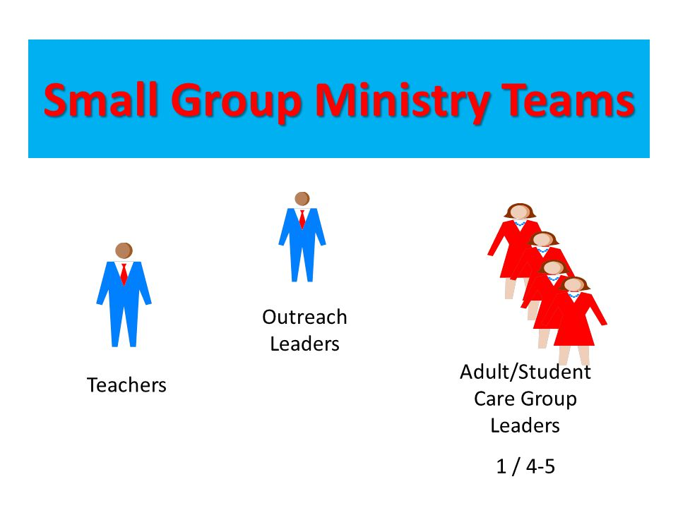 Small Group Ministry Teams