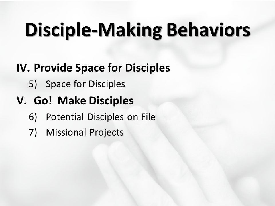 Disciple-Making Behaviors