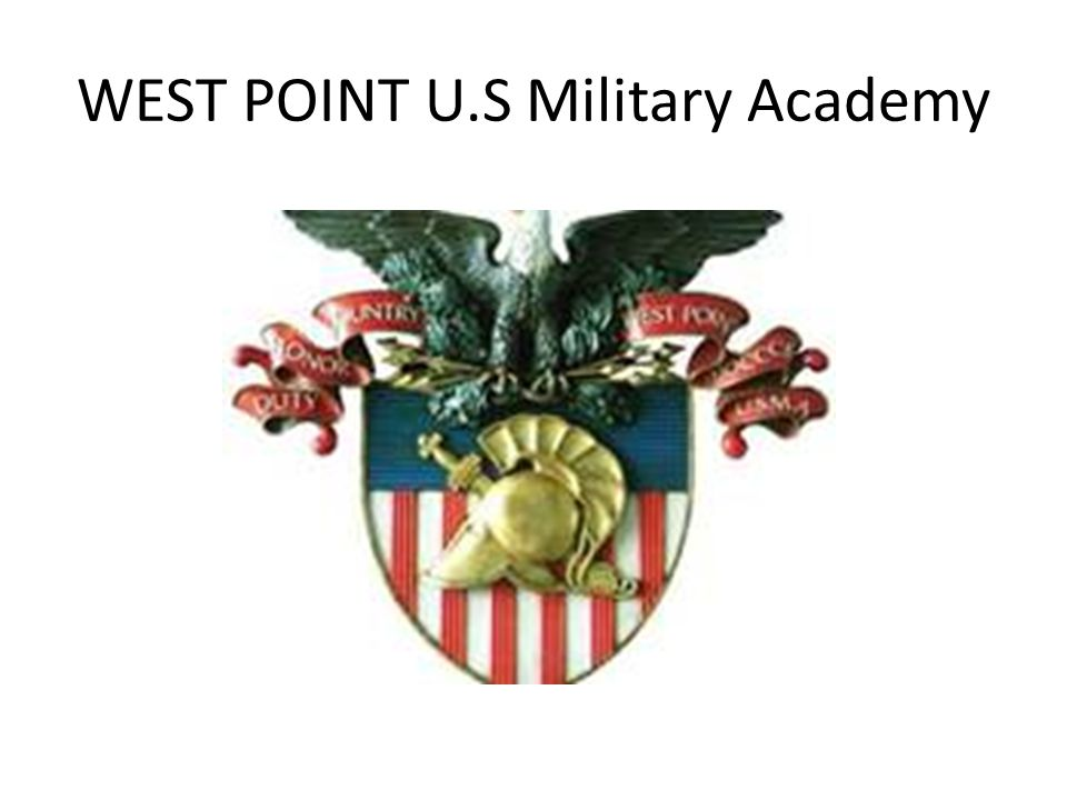 WEST POINT U.S Military Academy