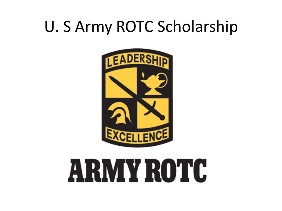 U. S Army ROTC Scholarship