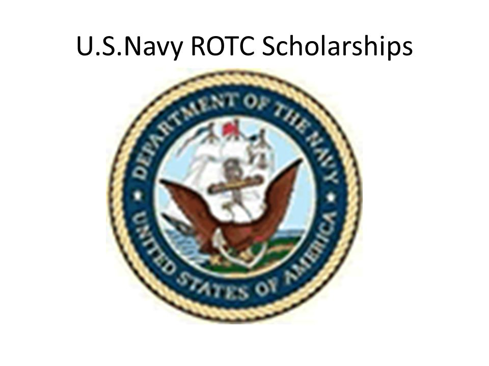 U.S.Navy ROTC Scholarships