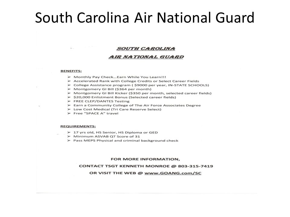 South Carolina Air National Guard