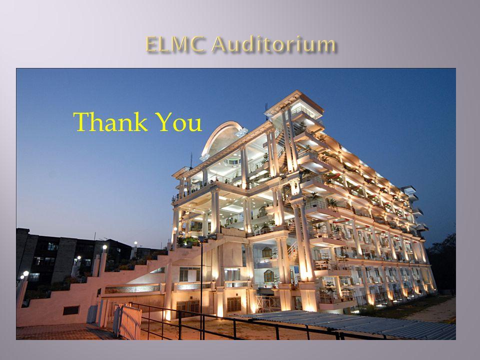 ELMC Auditorium Thank You