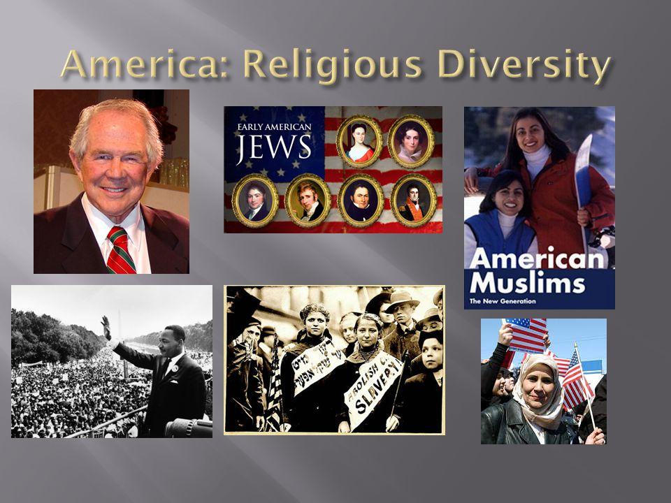 America: Religious Diversity