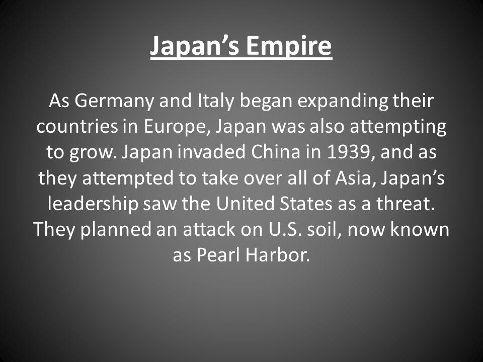 Japan's Empire