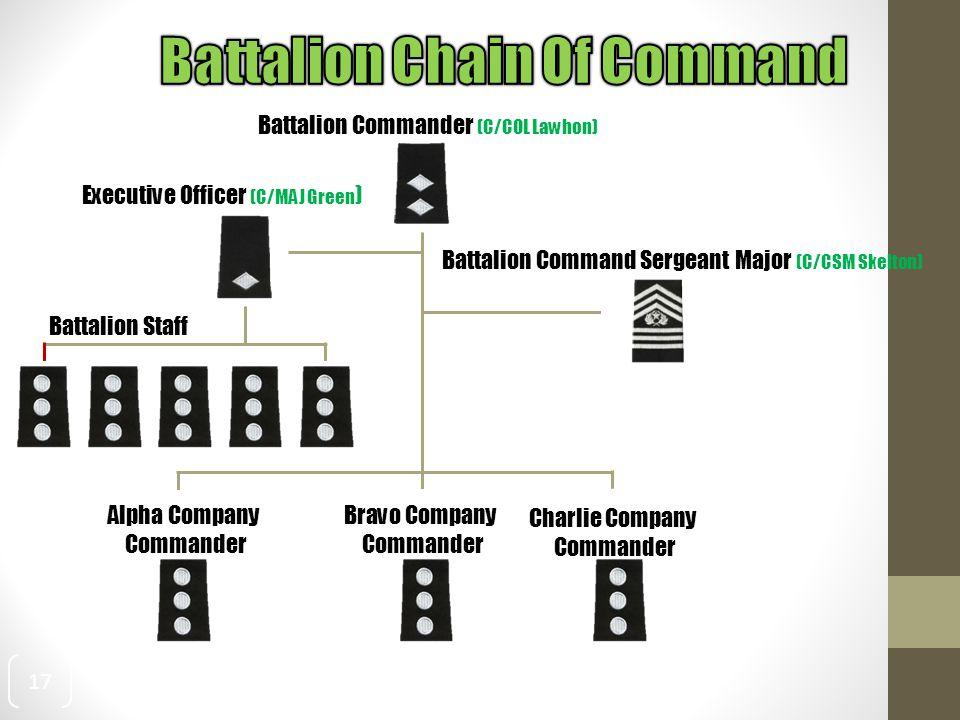 Battalion Chain Of Command