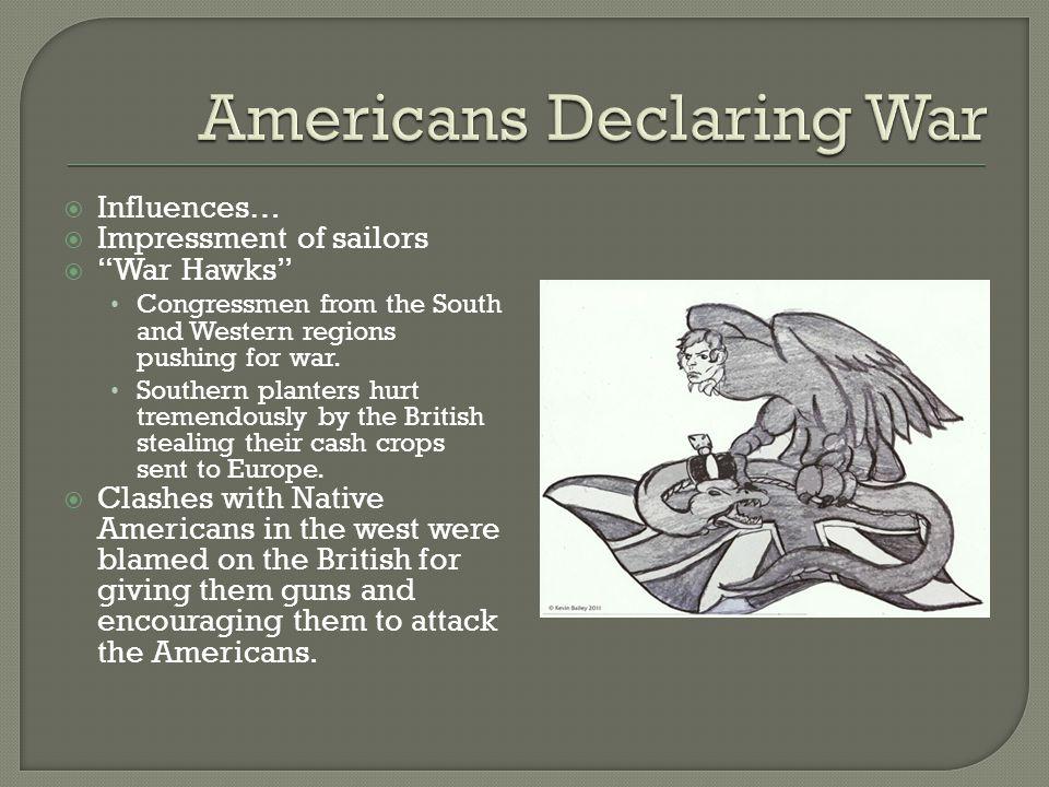 Americans Declaring War