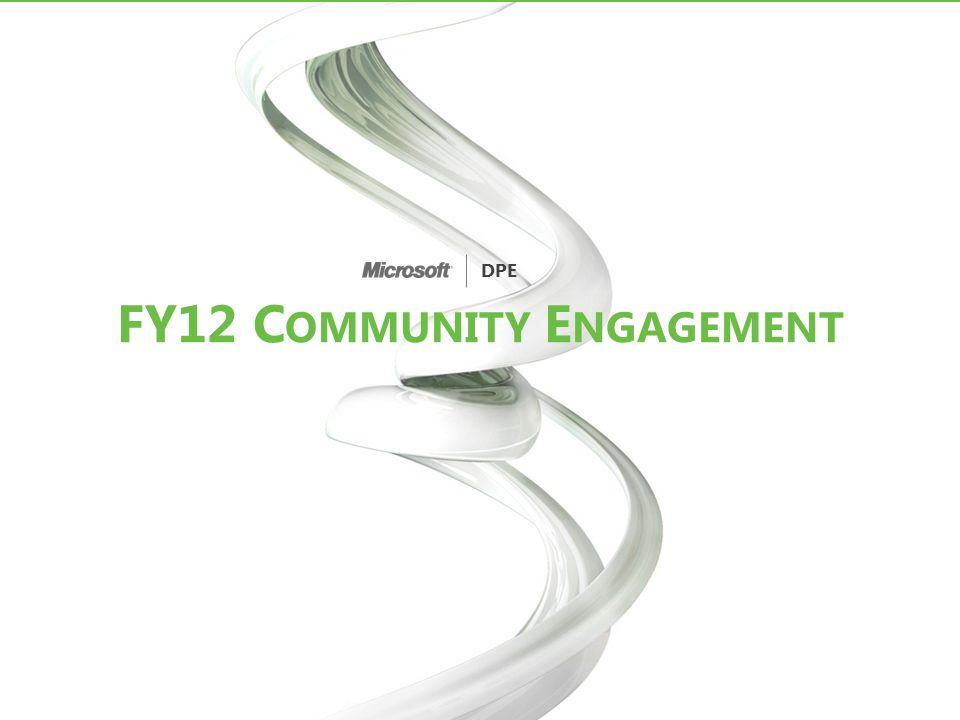 FY12 Community Engagement