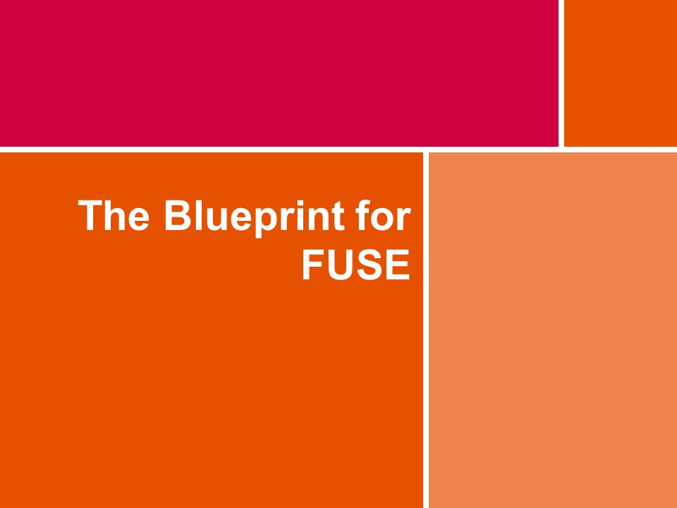 The Blueprint for FUSE
