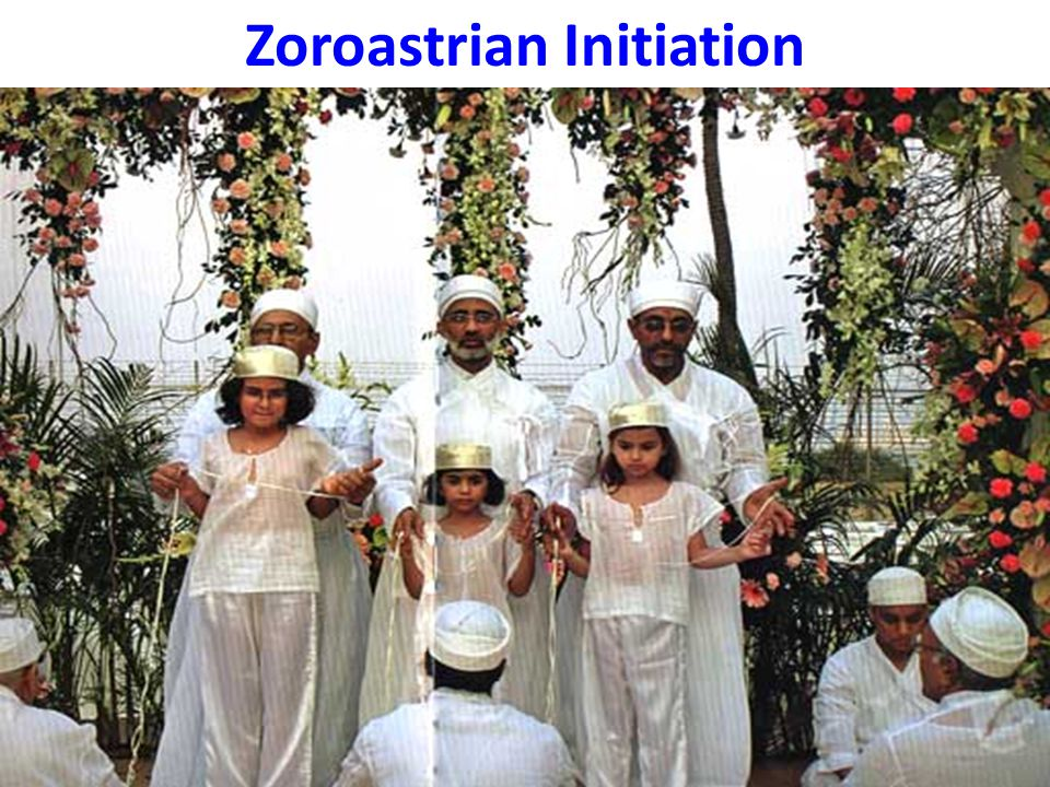 Zoroastrian Initiation