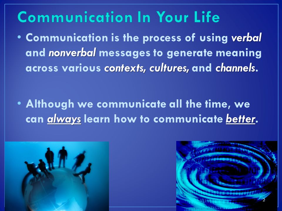 Communication In Your Life