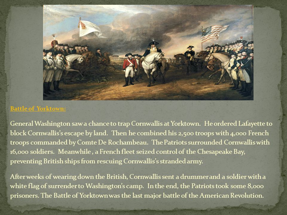 Battle of Yorktown: