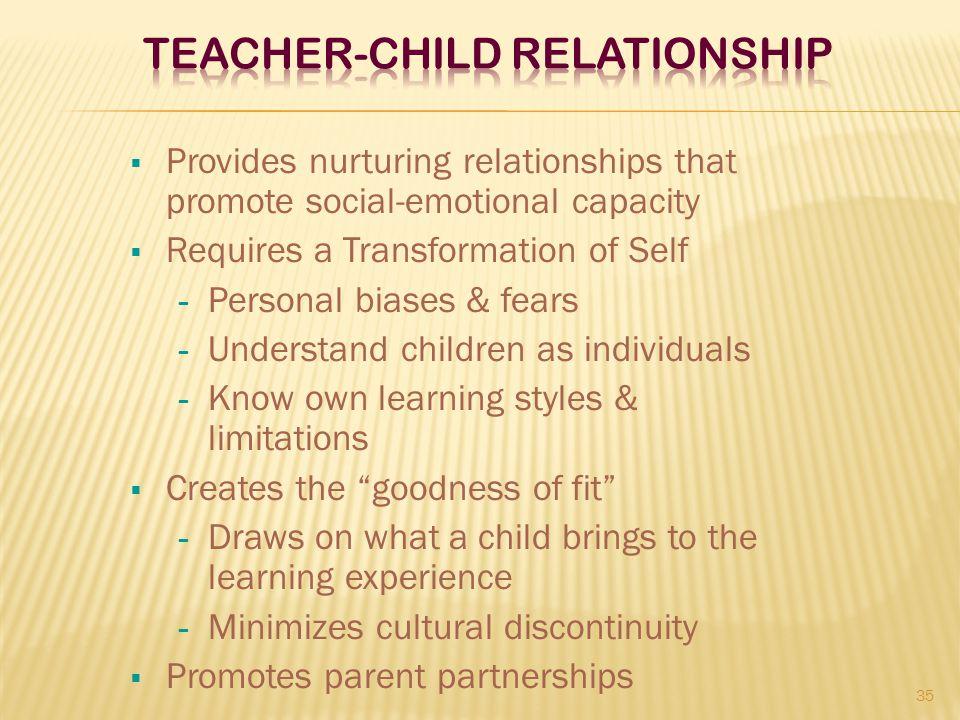 Teacher-Child Relationship